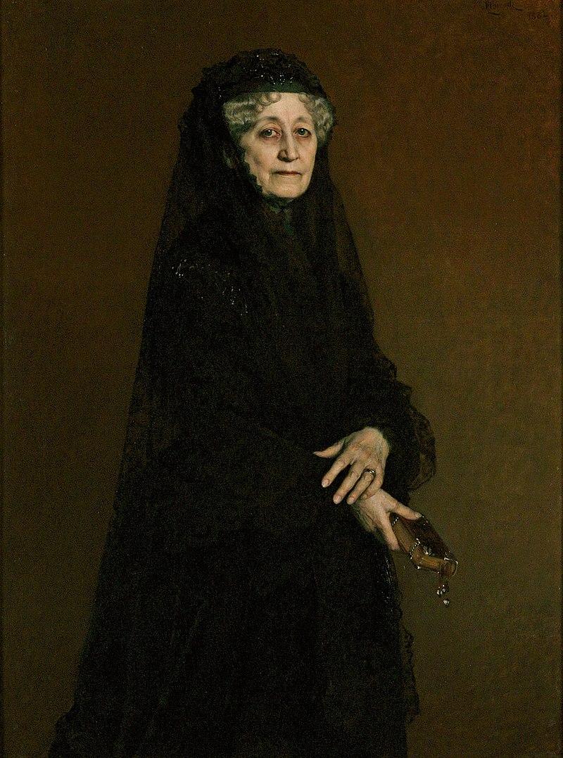 Horowitz - Portret Jadwigi z Zamoyskich Sapieżyny 1882.jpg