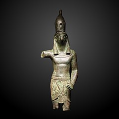 Horus with harpoon-AE E 10666