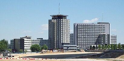 Cómo llegar a Hospital Universitario La Paz en transporte público - Sobre el lugar