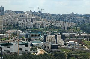 Har Hotzvim - Har Hotzvim, view from Ramat Shlomo