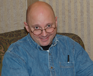 Schlock Mercenary - Creator Howard Tayler at CONduit in 2007.