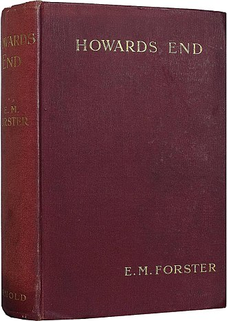 Howards End - Cover of first UK edition