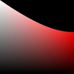 de kleur rood