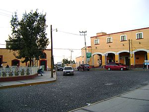 Centre of Hueypoxtla