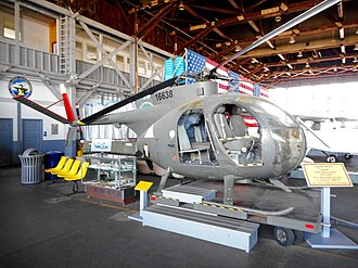 Naval Air Station Wildwood Aviation Museum - Hughes OH-6A Cayuse