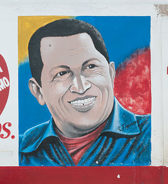 United Socialist Party of Venezuela - Image: Hugo Chávez Mural in Punta de Piedras