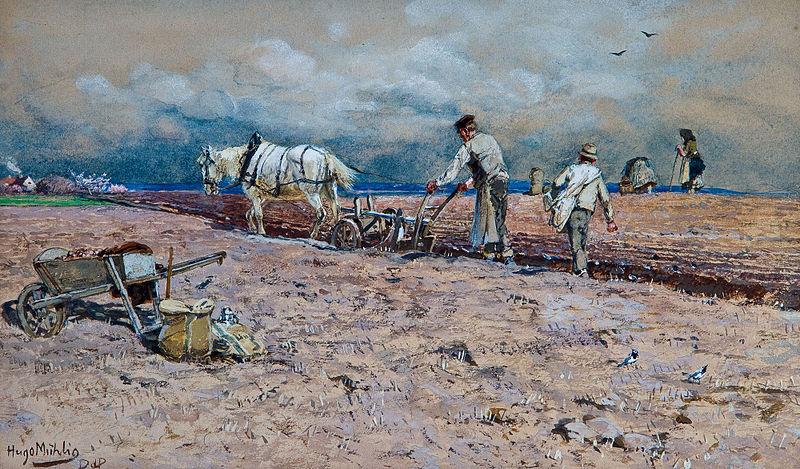 File:Hugo Mühlig Bauern auf dem Feld.jpg