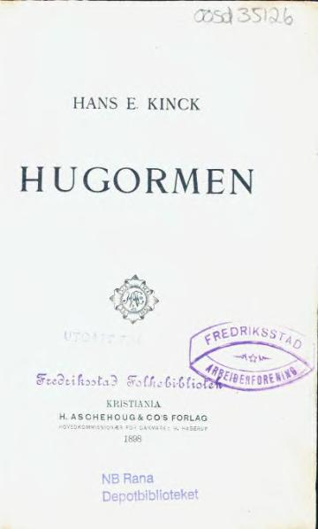 File:Hugormen.djvu