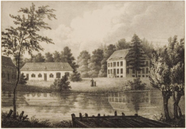 Huis de Poll in 1827-1829.