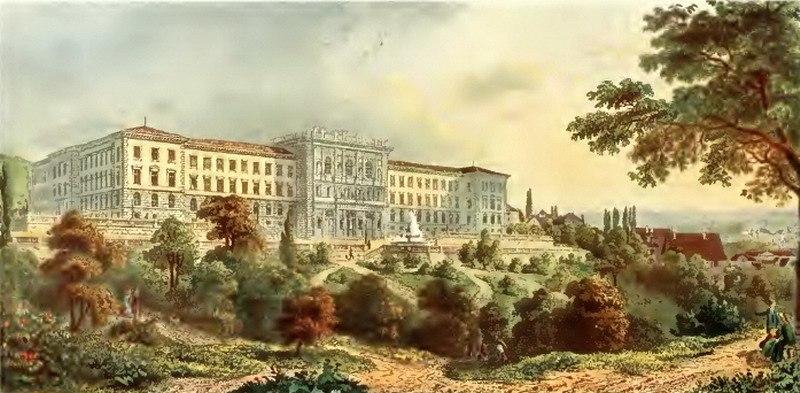 Hundert Jahre Bilder aus der Stadt Z%C3%BCrich - Das Polytechnikum 1865