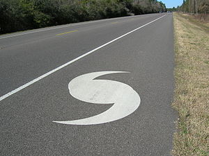 Emergency evacuation - Evacuation route marking near the Texas Gulf Coast
