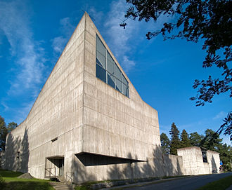 Aarno Ruusuvuori - Image: Huutoniemi church Vaasa Finland