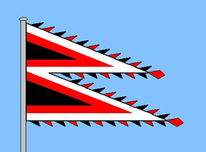 Huvadhu Atoll - Ancient flag of the Huvadhu Atoll Chief