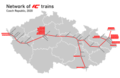 IC trains network Czechia 2020.png