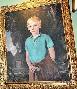 Edward Douglas-Scott-Montagu, 3rd Baron Montagu of Beaulieu - Edward Douglas-Scott-Montagu, 3rd Baron Montagu of Beaulieu, age 10 (Beaulieu Palace House)