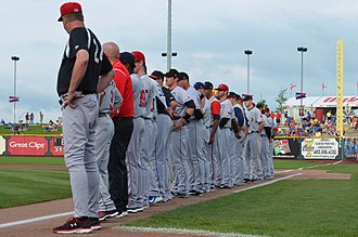 Triple-A All-Star Game - 2015 IL All-Stars before the game