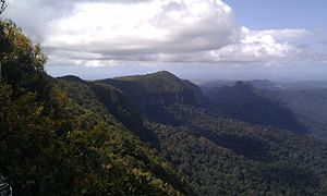 Gold Coast, Queensland - View from 'Best of All Lookout', Springbrook National Park