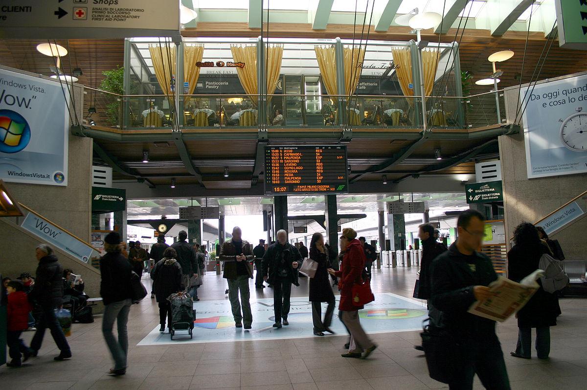 Bahnhof milano cadorna wikipedia - Porta garibaldi malpensa terminal 2 ...