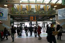 Interno della Stazione