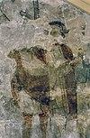 interieur, detail van schildering na restauratie - margraten - 20303697 - rce