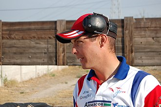International Practical Shooting Confederation - Six times IPSC Handgun World Champion Eric Grauffel from France, pictured at the 2007 European Handgun Championship, Cheval-Blanc in France.
