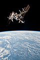 ISS and Endeavour seen from the Soyuz TMA-20 spacecraft 18.jpg