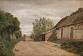 I udkanten af landsbyen Vejby 1843.jpg