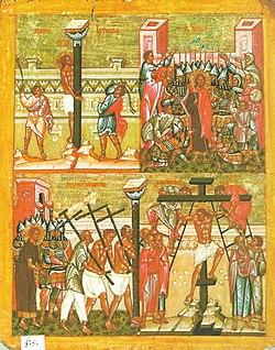 Icon of Passion of Jesus Christ, Novgorod.jpg