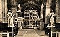 Iconostasis in Basilian monastery Cerneca hora Mukacevo pict taken in 1938.jpg