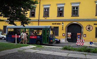 Budapesti Közlekedési Zrt. - An Ikarus 405 bus