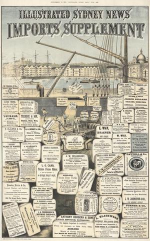 Illustrated Sydney News - Supplement July 1882