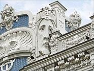 Immeuble art nouveau (Riga) (7558514582)