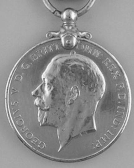 Imperial Service Medal, obverse George V