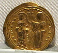 Impero romano d'oriente, romano III, emissione aurea, 1028-1034.JPG