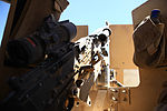 In the hot seat, Turret gunner shares first patrol in Afghanistan 130725-M-ZB219-369.jpg