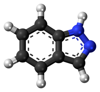 Indazole - Image: Indazole 3D ball
