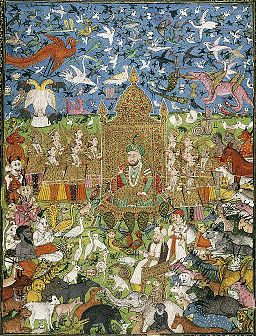Ing Solomon and His Court India (Deccan, Hyderabad),