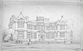 Ingestre House Staffordshire by Edward Blore 1845.jpg