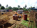 Initial earthworks on the new TB Isolation Ward, completed July 2013 - Photo AusAID (10705365794).jpg