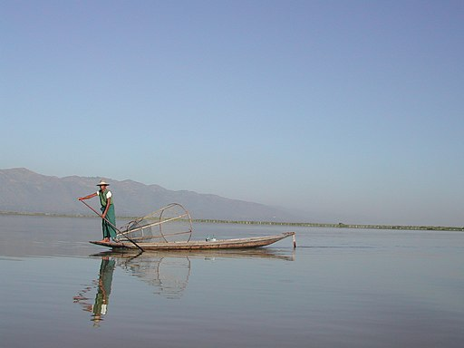 Inle Lake-Fisherman