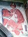 Innichen Stiftskirche - Romanisches Südportal 4 Fresco St.Candidus.jpg