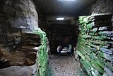 Inside the chambered cairn on the Holm of Papa Westray - geograph.org.uk - 1364571.jpg