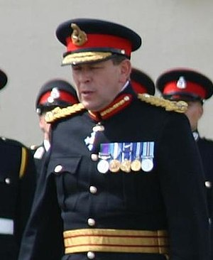 Andrew Ritchie (British Army officer) - Ritchie in 2005