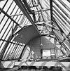 interieur kapconstructie naar het westen tijdens restauratie - sint anthonie-polder - 20023177 - rce