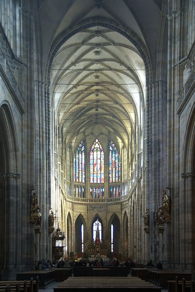 File:Interior of St. Vitus Cathedral Prague 01.jpg