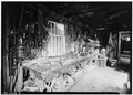 Interior of carpenter shop. View from north end. - Dominy House, North Main Street, East Hampton, Suffolk County, NY HABS NY,52-HAMTE,8-6.tif