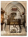 Interior of the Church of the Annunciation, Nazareth, Holy Land, (i.e. Israel)-LCCN2002725048.jpg