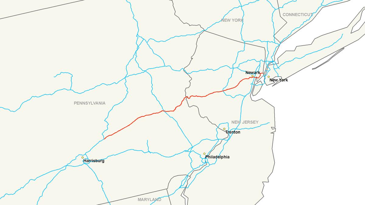 Interstate 78   Wikipedia, entziklopedia askea.