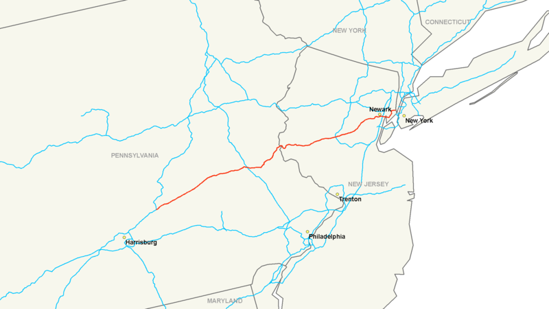 File:Interstate 78 map.png