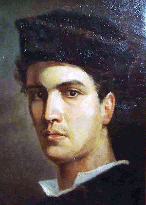 Ioannis Altamouras - Self portrait